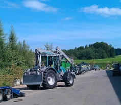 Tractor forestier Pm Track